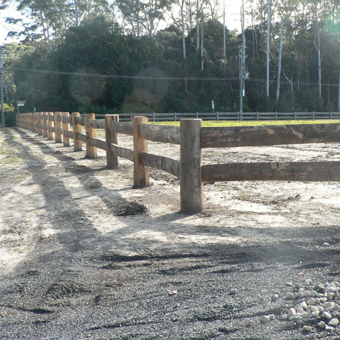 Decorative Timber Fencing